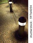 modern street light or... | Shutterstock . vector #59764054