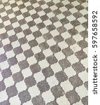 Small photo of Vintage Arabesque tile pattern