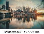 Colorful Sunrise In Brisbane