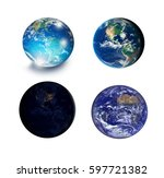 "view of earth from outer space ""... 
