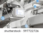 equipment and mechanism with a... | Shutterstock . vector #597722726