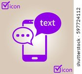 mobile chatting icon.mobile...