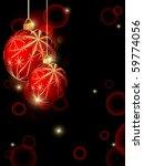 abstract vector christmas... | Shutterstock .eps vector #59774056