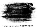 grunge black and white urban... | Shutterstock .eps vector #597752228