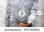 blockchain finance web money...