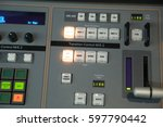 video broadcast editor watching ...   Shutterstock . vector #597790442