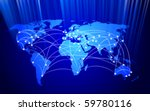 vector global network... | Shutterstock .eps vector #59780116