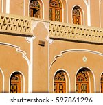 blur in iran the antique  royal ... | Shutterstock . vector #597861296