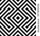 vector seamless pattern.... | Shutterstock .eps vector #597890456