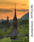 Traditional Wooden Church From...