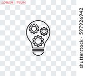 line icon    concept | Shutterstock .eps vector #597926942