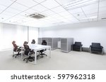 modern office interior | Shutterstock . vector #597962318