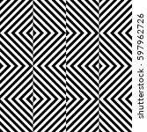 vector seamless pattern.... | Shutterstock .eps vector #597962726