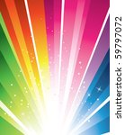 a colorful design with a burst  ... | Shutterstock . vector #59797072