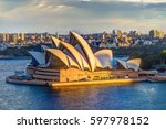 sydney  new south wales ... | Shutterstock . vector #597978152