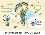 freehand drawn concept image... | Shutterstock .eps vector #597991685