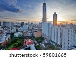 bangkok   june 12  view on the... | Shutterstock . vector #59801665