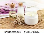 aroma botanical spa treatment.... | Shutterstock . vector #598101332