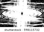 grunge black and white urban... | Shutterstock .eps vector #598115732