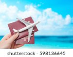 Small photo of airplane passport flight travel traveller fly travelling