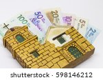 conceptual image about money... | Shutterstock . vector #598146212