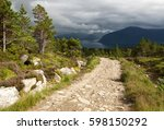 Hiking Trail In Rollonhytte...
