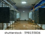 Old Shower In The Factory