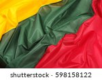 abstract close up of lithuania... | Shutterstock . vector #598158122