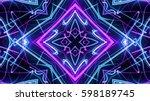 abstract laser lights   Shutterstock . vector #598189745