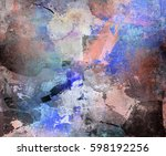 abstract background created by... | Shutterstock . vector #598192256