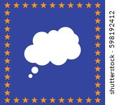 chat cloud dialog icon  vector...