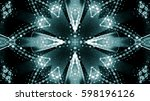 abstract dotted background | Shutterstock . vector #598196126