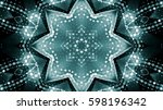 abstract dotted background | Shutterstock . vector #598196342