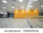 interior of a dancing hall | Shutterstock . vector #598240556