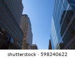 new york city   cityscape of... | Shutterstock . vector #598240622