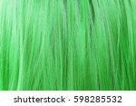 Green Hair Background