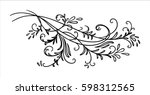 vector design element ... | Shutterstock .eps vector #598312565