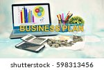 business concept images with... | Shutterstock . vector #598313456
