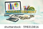 business concept images with... | Shutterstock . vector #598313816