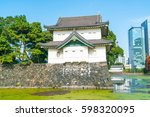 beautiful imperial palace... | Shutterstock . vector #598320095