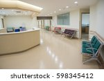 empty nurses station in a... | Shutterstock . vector #598345412