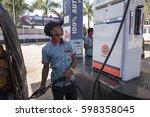 khajuraho   india 25 february... | Shutterstock . vector #598358045