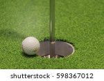 golf  with holes | Shutterstock . vector #598367012