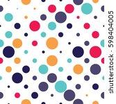 Seamless Polka Dot Pattern With ...