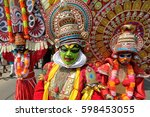 kannur   india   february 5 ... | Shutterstock . vector #598453055
