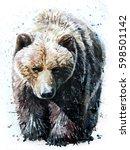 bear | Shutterstock . vector #598501142
