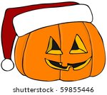 Christmas Jack O Lantern