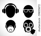 vector head signs