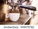 coffee machine. coffee machine...   Shutterstock . vector #598575782