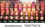 showcase with a variety of... | Shutterstock . vector #598579676
